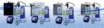 Photograph: Chanson Water alkaline ionizer packages