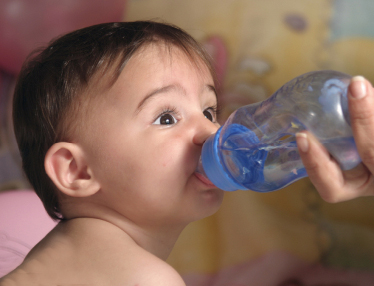 Can babies drink alkaline ionized water?