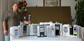water ionizer's review by Ronnie at Chanson Water