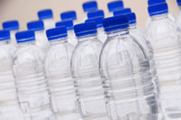 purified water in bottled form